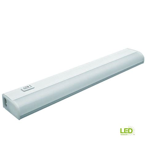 Commercial Electric Cabinet Lighting by Commercial Electric 24 In Led White Linkable In