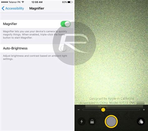 magnifier on iphone new in ios 10 magnifier feature can turn your iphone into
