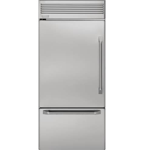 ge monogram  professional built  bottom freezer refrigerator zicpslss ge appliances