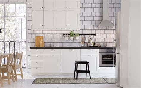kitchen cabinet glazing cook together in classic nordic style ikea 2524