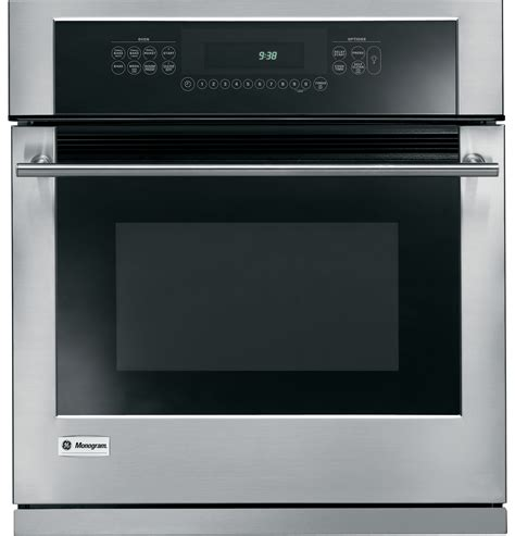 ge monogram  built  electric single oven zeksmss ge appliances