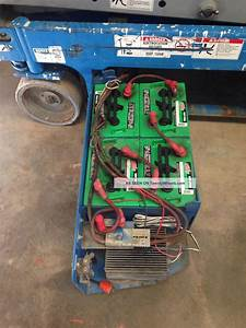 Upright Scissor Lift Battery Hook Up