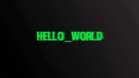 world glitch art digital art typography hd
