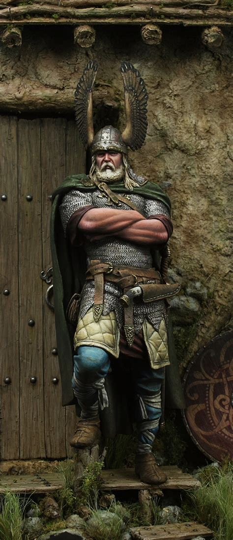 viking chief  oliver honourguard spaeth puttypaint