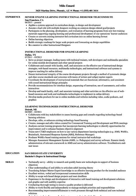 Learning Instructional Designer Resume Samples  Velvet Jobs. Sample Resume Summary For Freshers. Great Resume Words. Production Assistant Resume. Excellent Resume Example. Reasons For Leaving Job On Resume. Mechanical Planning Engineer Resume. How To Write Reason For Leaving In Resume. Resume For University Job