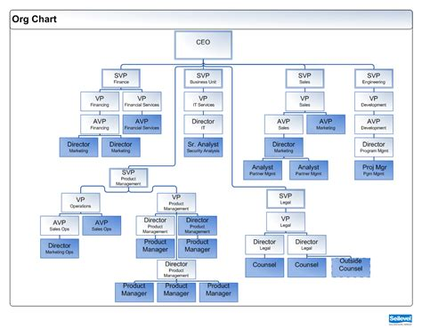 org chart business analysts org charts does a project