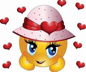 Cute Girl Smiley Faces | Cute Girl Smiley Emoticon Clipart ...