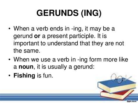 gerunds  infinitives