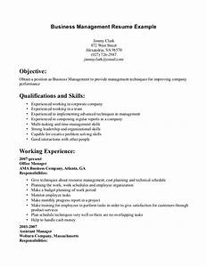 12 business resume examples recentresumescom for Business administration resume skills
