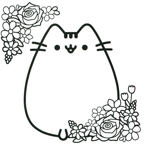 pusheen coloring book pusheen pusheen  cat pusheen