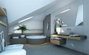 Bodenfliesen Badezimmer Grau : badezimmer hellgrau ~ Sanjose-hotels-ca.com Haus und Dekorationen