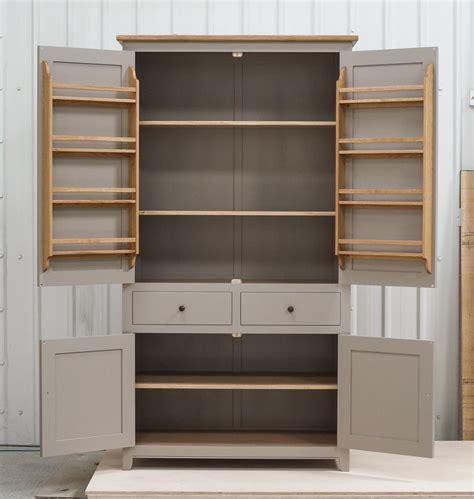 Freestanding Pantry Cupboard by Freestanding Larder Cupboard Handpainted In Farrow