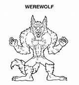 Goosebumps Coloring Werewolf Pages Printable Scary Wolf Face Template Getcolorings Sonic Anime Popular Printing Button Through Coloringhome sketch template