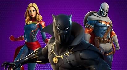 Fortnite Marvel Pack Warriors Skins Slashgear