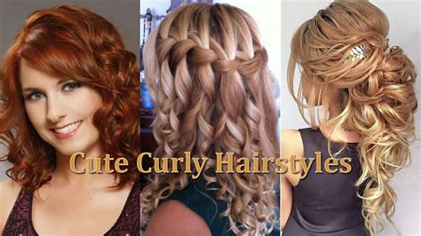 How To Cute Hairstyles For Curly Hair