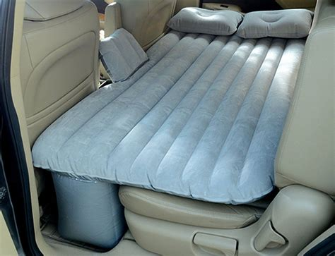 air mattress for back seat car mattress travel air bed