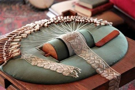 lace making sam     pillow