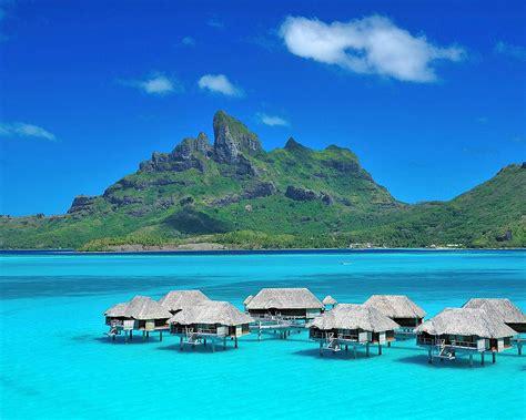 Bora Bora Bungalow Water World For Travel