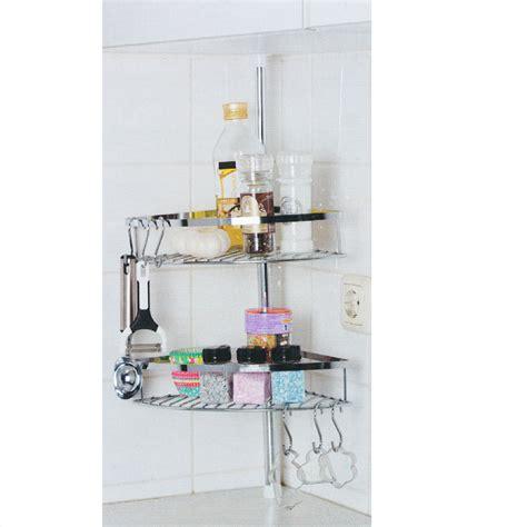 etagere inox cuisine étagère de cuisine télescopique inox 2 paniers 6 crochets