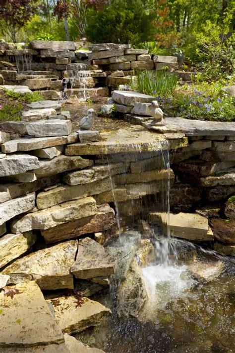 rock garden with waterfall 50 pictures of backyard garden waterfalls ideas designs