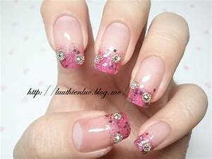 Sparkle And Glitter Wedding - Bridal Nail Designs ...