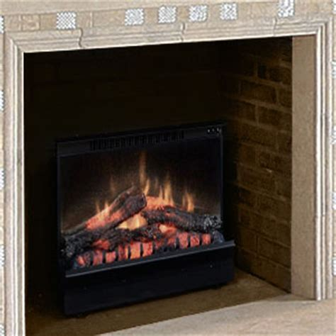 dimplex   deluxe electric fireplace insertlog set