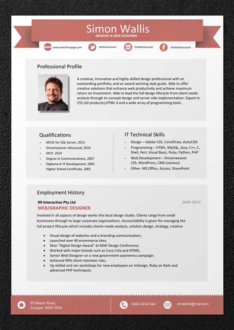 resume templates  professional resume template