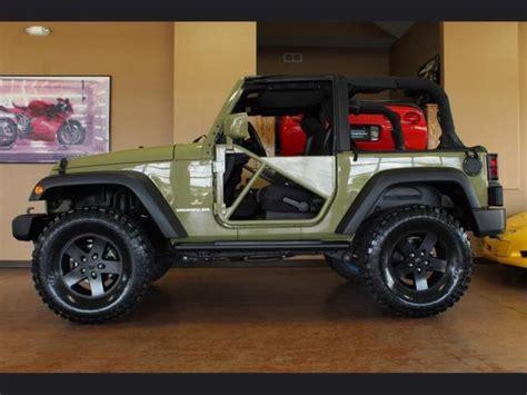 jeep wrangler 2 door modified 2013 jeep wrangler sport automatic 2 door 35 quot tires custom