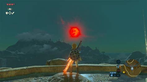 Zelda Blood Moon Zelda Breath Of The Wild Blood Moon Guide Cooking