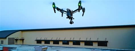 drone infrared roof inspections aerial building