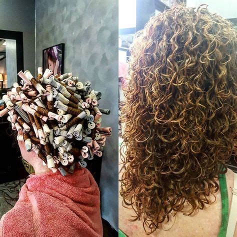 gorgeous spiral piggyback perm   rod sizes hair