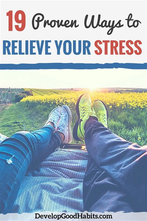 dealing  stress  proven ways  relieve stress