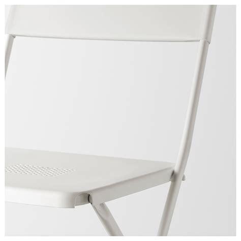 chaise pliable ikea fejan chaise extérieur pliable blanc ikea