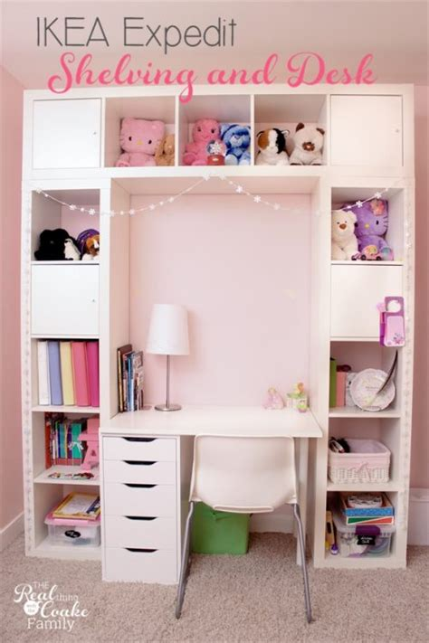 Expedit Desk by Ikea Expedit Turned Into A Great Shelving Unit With Desk