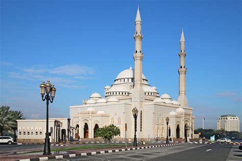 Al Noor Mosque. Art Destination Sharjah