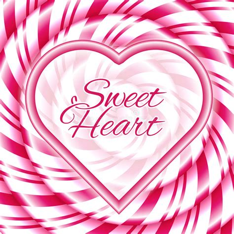 Download icons in all formats or edit them for your. Sweet Heart - Background With Candy Cane Spiral Stock ...