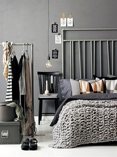 making  statement   bedroom  edgy industrial