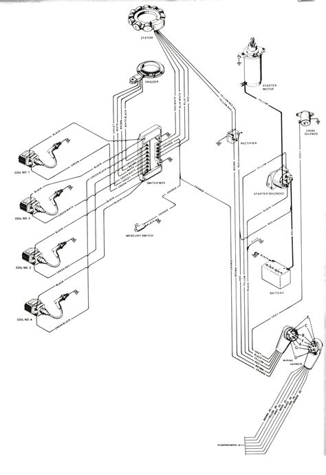 Mercury 90hp 4 Stroke Wiring Diagram by 90 Hp Mercury 4 Stroke Efi Electrical Diagram Wiring