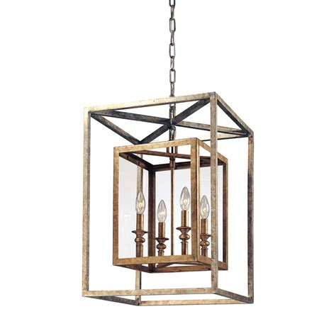troy four light lantern pendant on sale