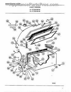 Parts For Frigidaire 83159b  Chest Freezer Parts