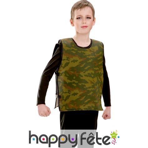 pare enfant gilet pare balle camouflage pour enfant