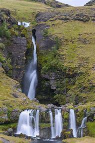 Gluggafoss Waterfall Iceland