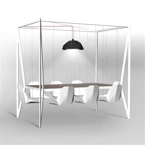swing dining room table and chairs from duffy