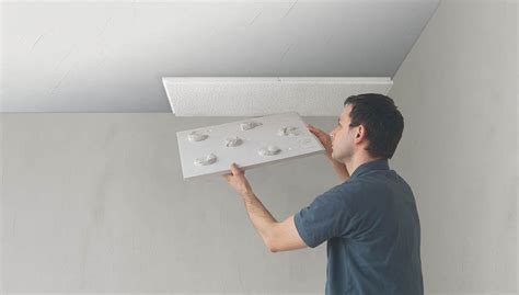 coller du ba13 au plafond plaque isolation plafond a coller portes coulissantes