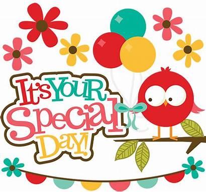 Special Svg Clipart Scrapbook Birthday Clip Digital