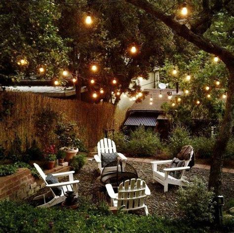 guirlande lumineuse jardin guirlande jardin