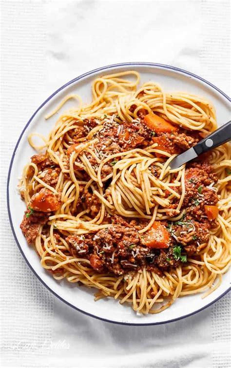 cooker spaghetti slow cooker spaghetti bolognese cafe delites