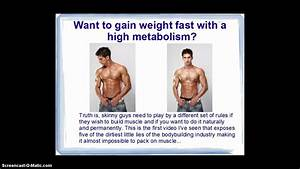 How To Gain Weight Fast With A High Metabolism