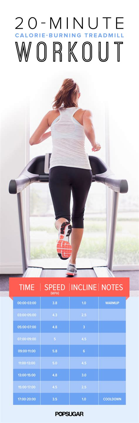 20minute Treadmill Workout  Popsugar Fitness