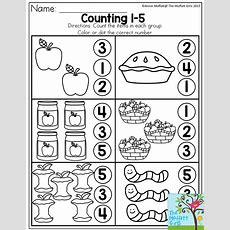 Counting 15 Count The Items In Each Group And Dot Or Color The Correct Number There Are Tons